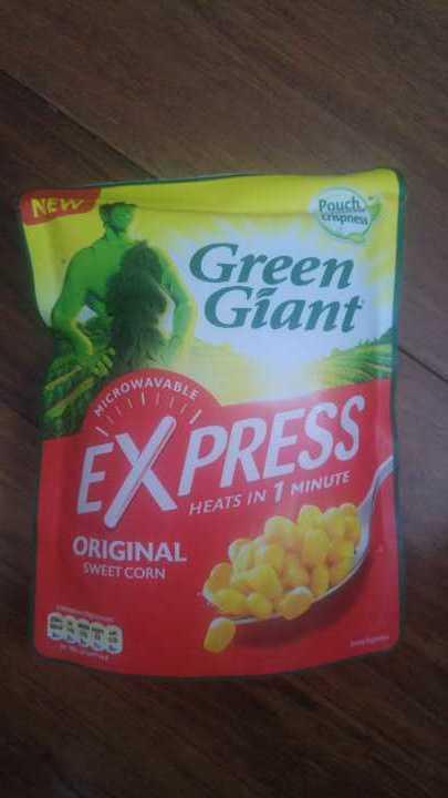 Green giant sweetcorn