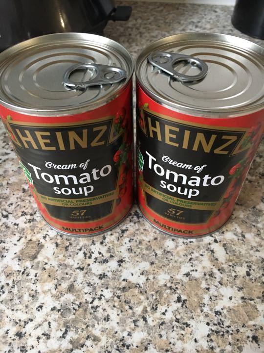 Heinz tom soup