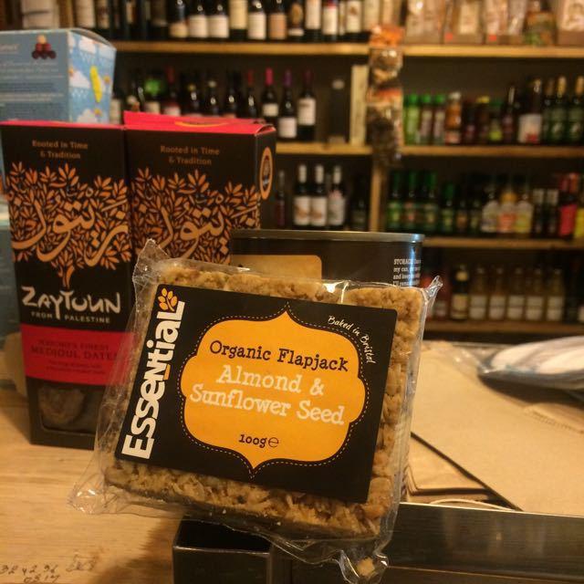 Organic flapjack Almond & Sunflower seed