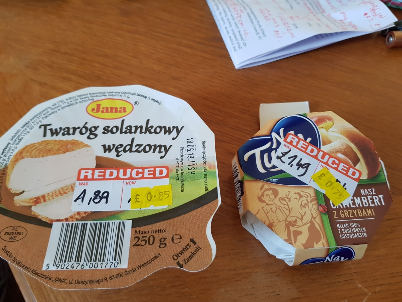 Polish cheese to giveaway