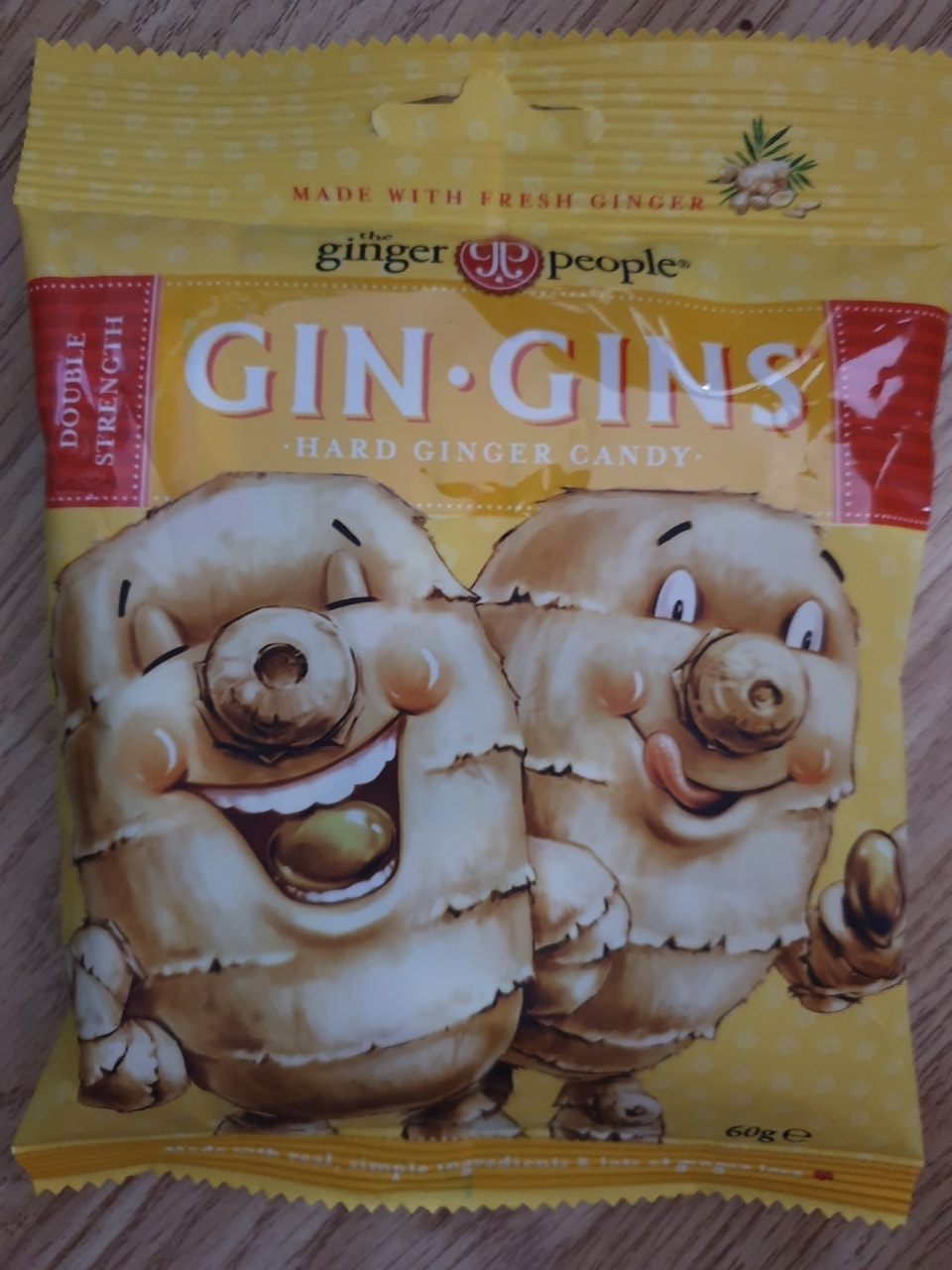 Gin gins ginger sweets