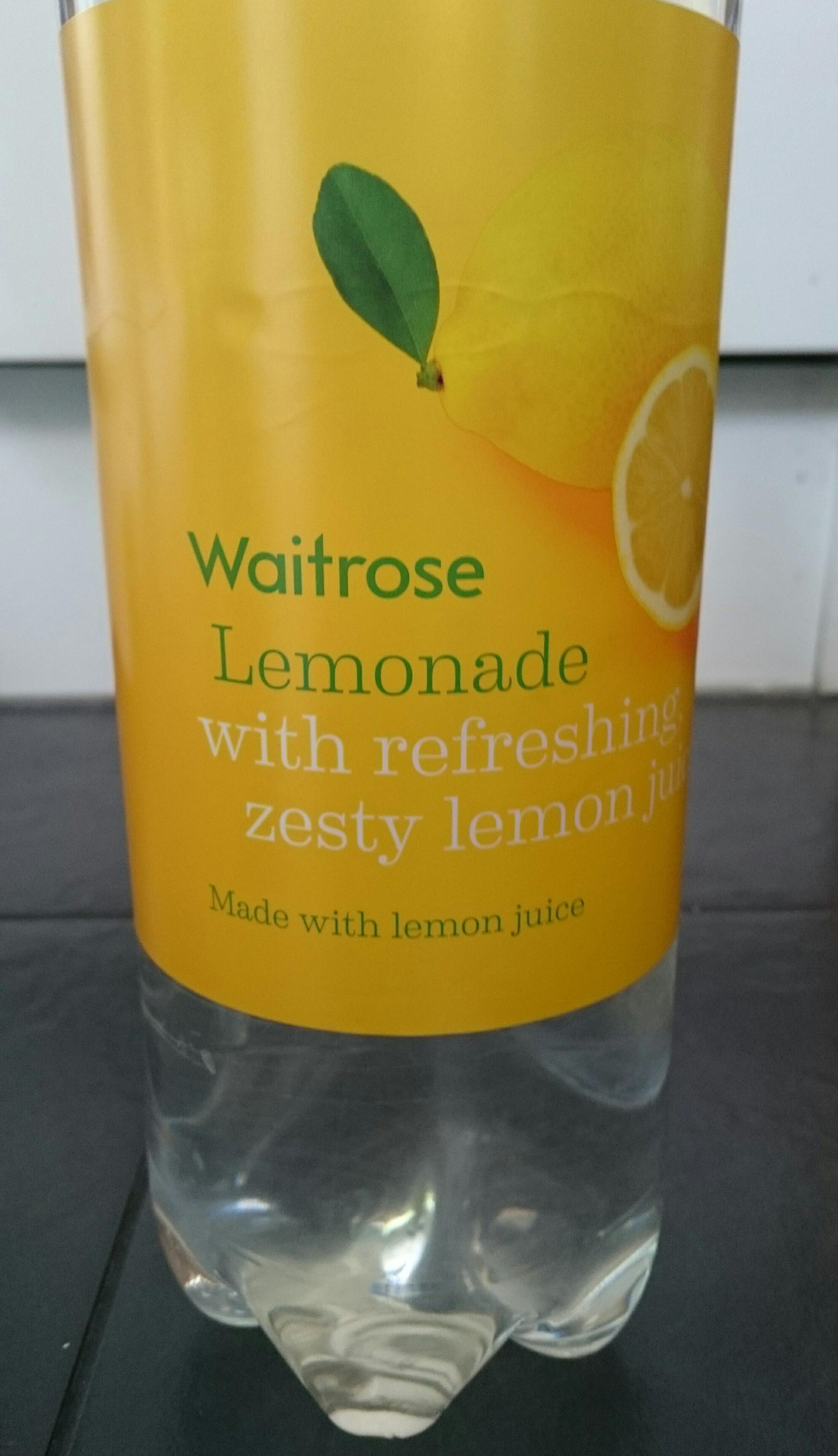 waitrose lemonade 2 litres