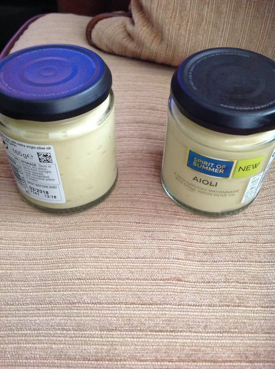 Marks and Spencer's aioli New