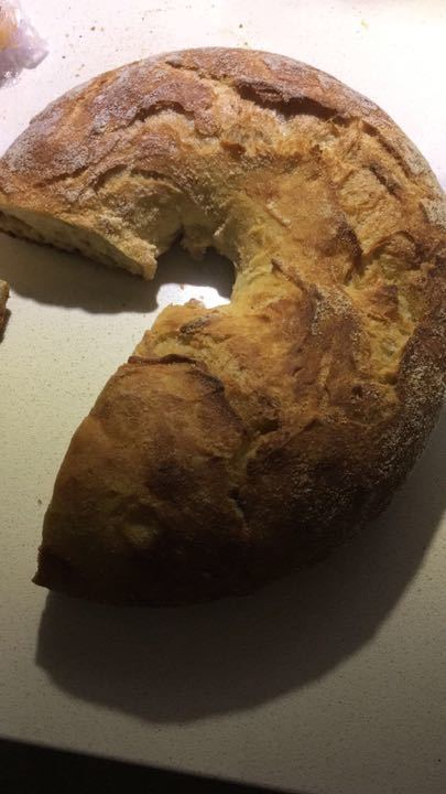 Bread donated by artisan bakery Signorelli