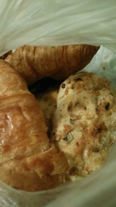 Croissants and baguette