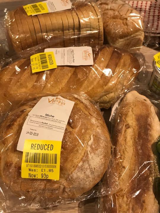 Lots of bread