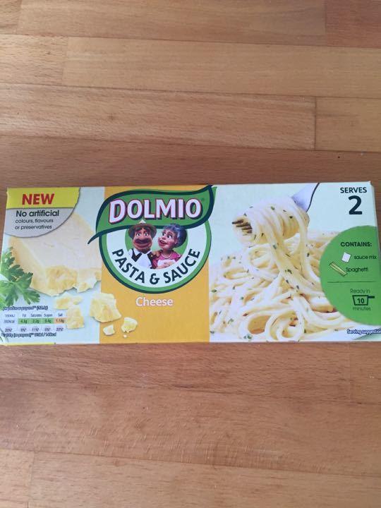 Dolmio cheese pasta and sauce