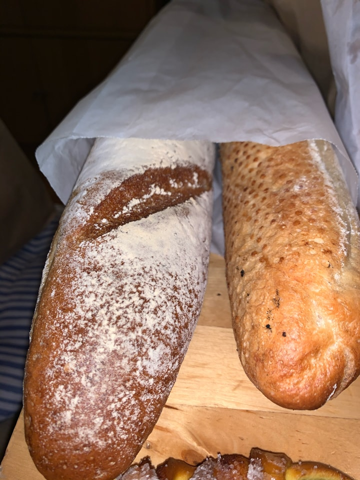 Freshly baked from pesso bageri