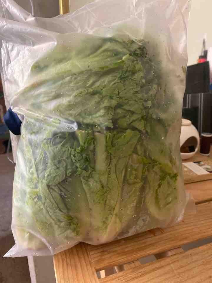 1 1/2 kg de lechuga