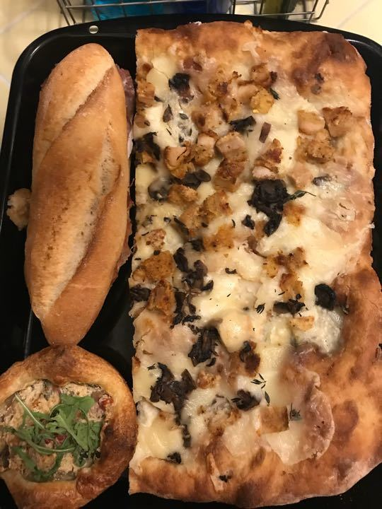 Mixed Pizzas, Sandwiches and more!!