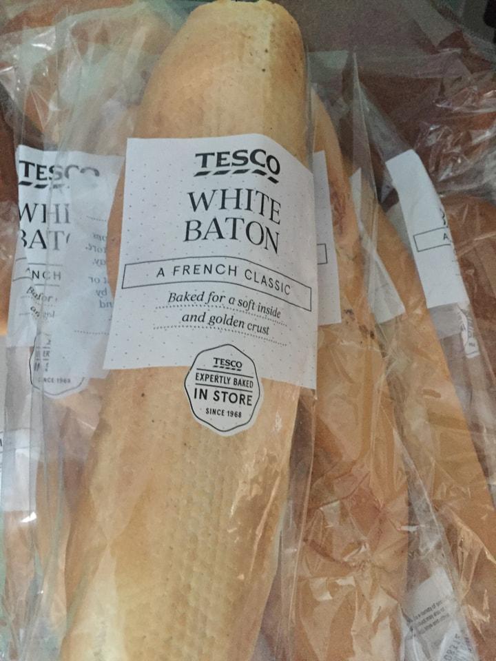 Tesco white batons