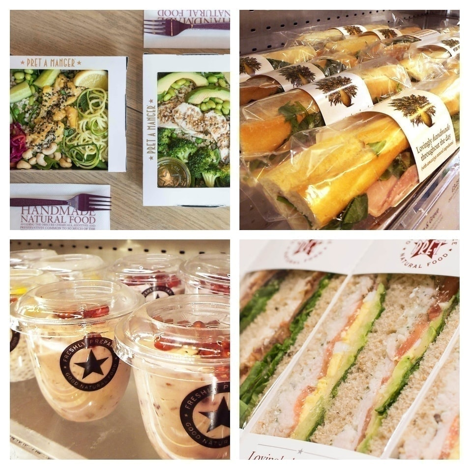 Pret SALADS available TODAY (city center)