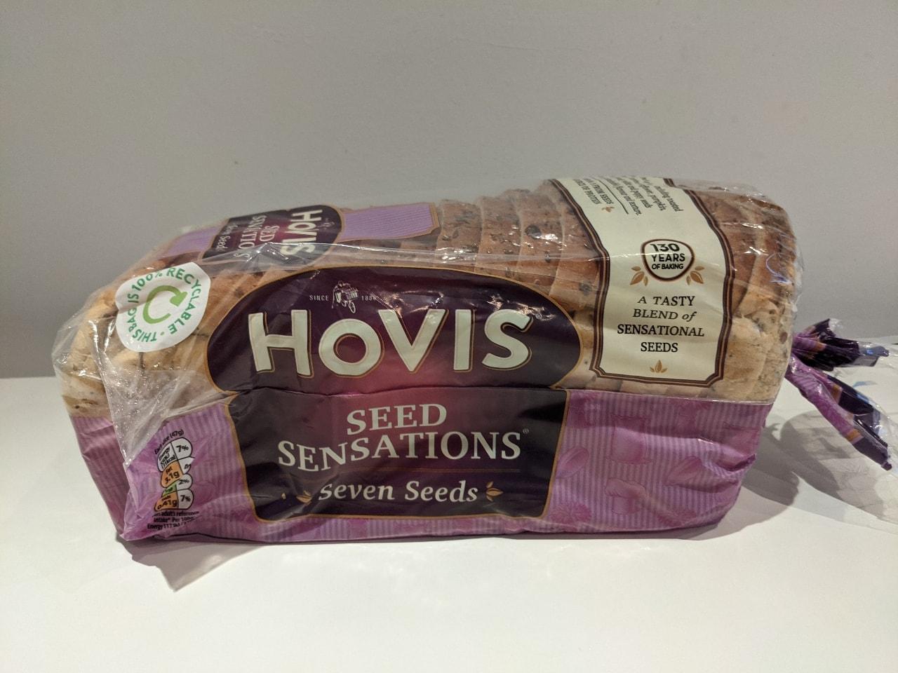 Hovis seed sensations loaf courtesy of Tesco