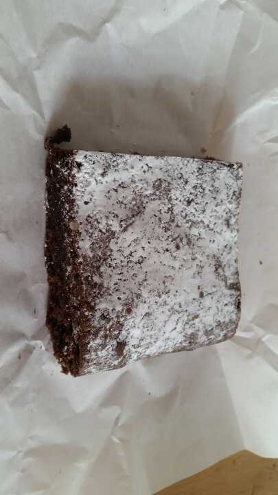 Chocolate brownie from Cocorico