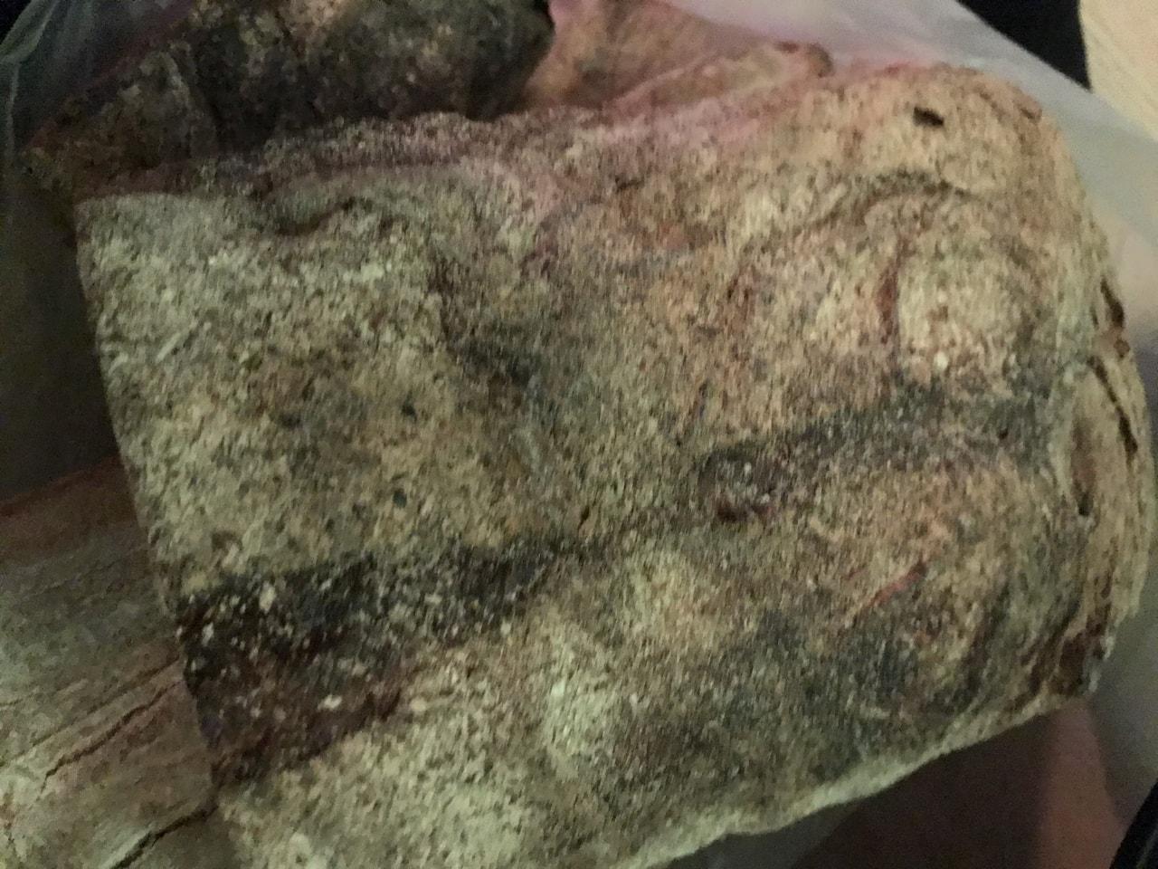 1/2  dark loaf, from brunkebergs bageri 10/3