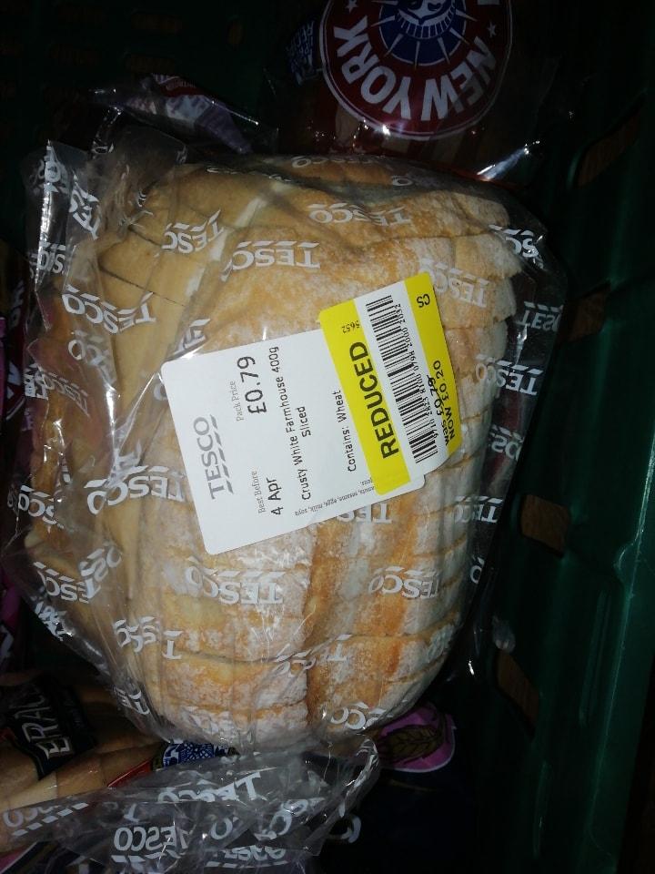 Tesco bread