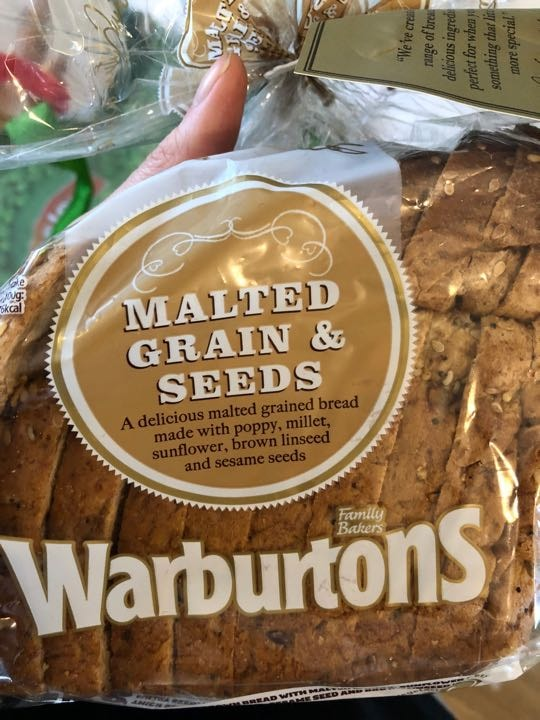 Malted grain and seeds bread
