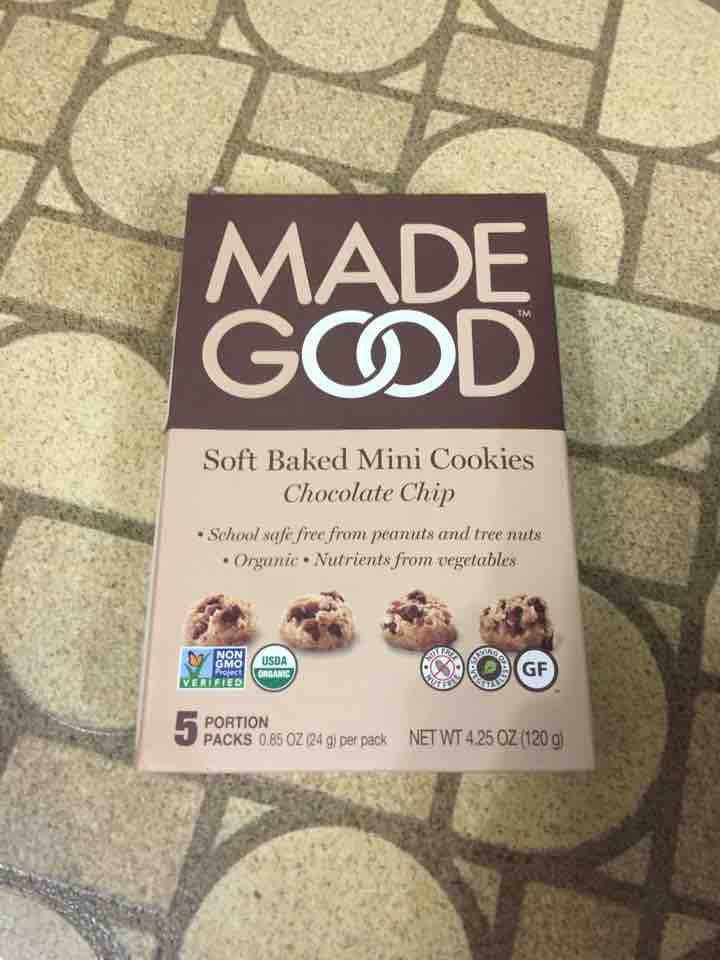(Reserved) Soft Baked Mini Cookies (Chocolate Chip) (120g)