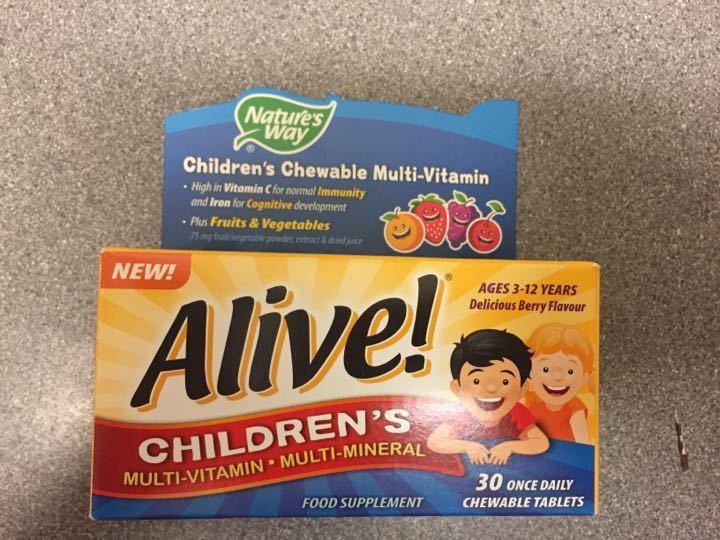 Children's multi vitamin multi mineral