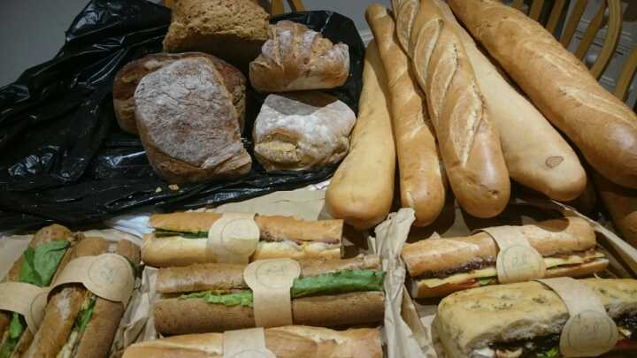 Breads and filled baguettes