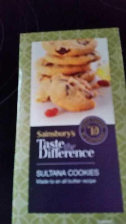 Sultana cookies 200grams