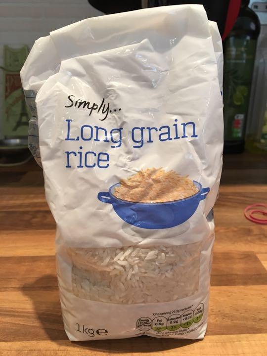 Long grain rice - 500g