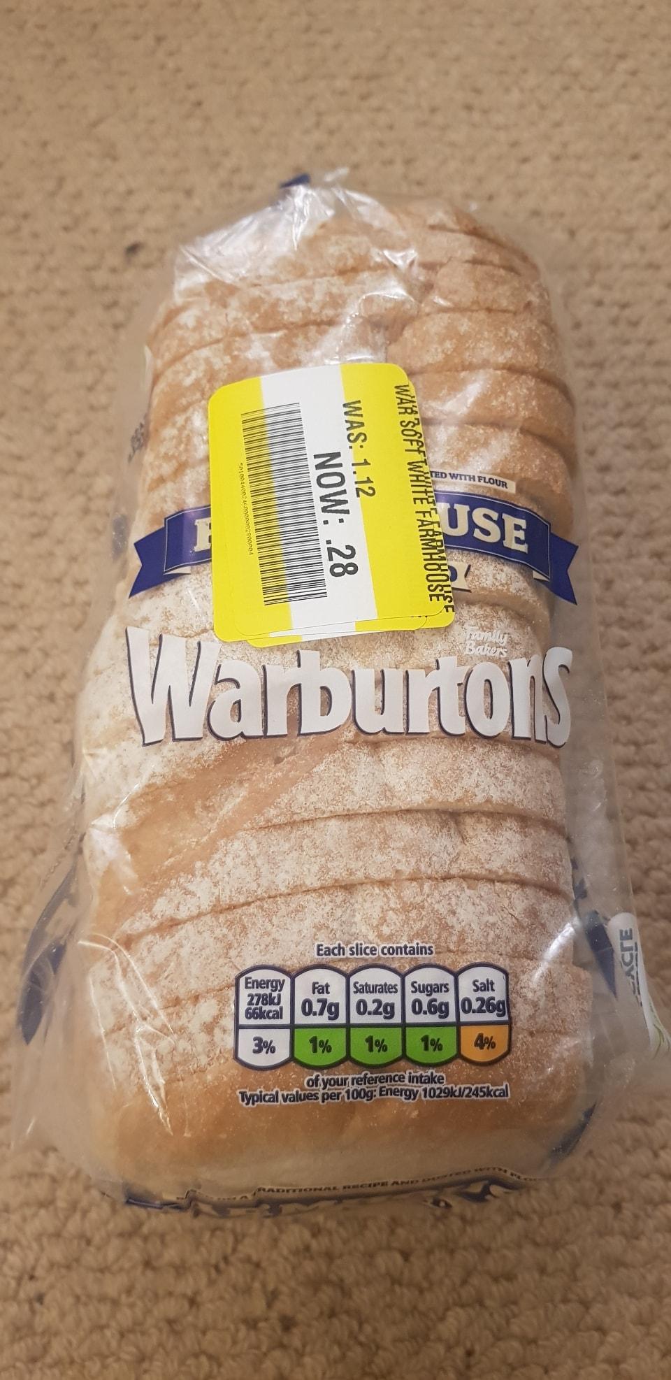 Warburtons Farmhouse Loaf