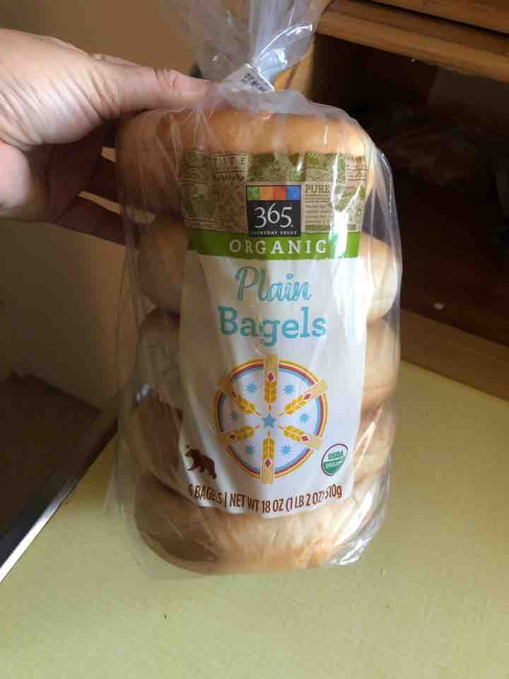 Whole Foods 365 Plain Bagels