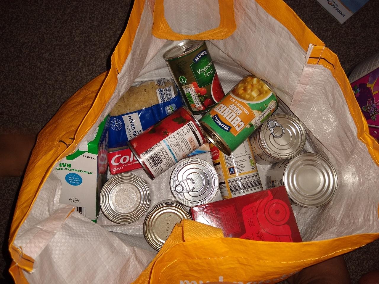 Cupboard food