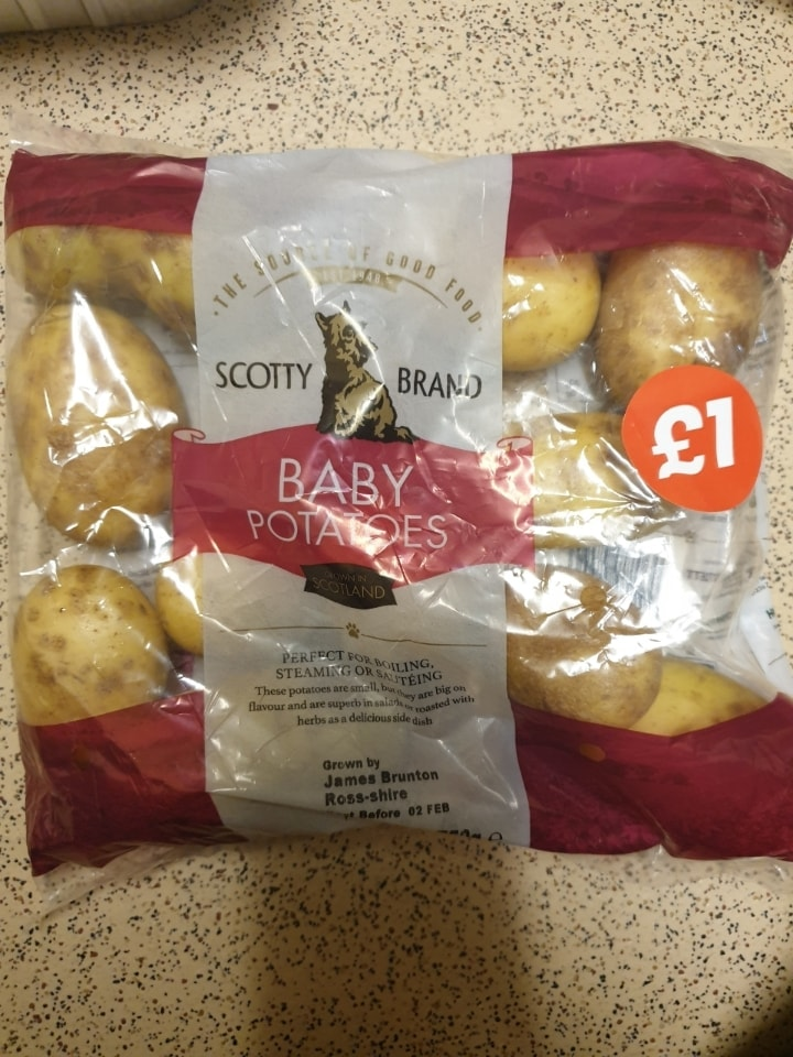 Scotty brand baby potatoes