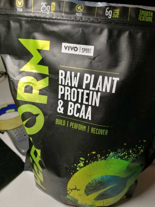 Vivo life vegan protein raw cacao flavor