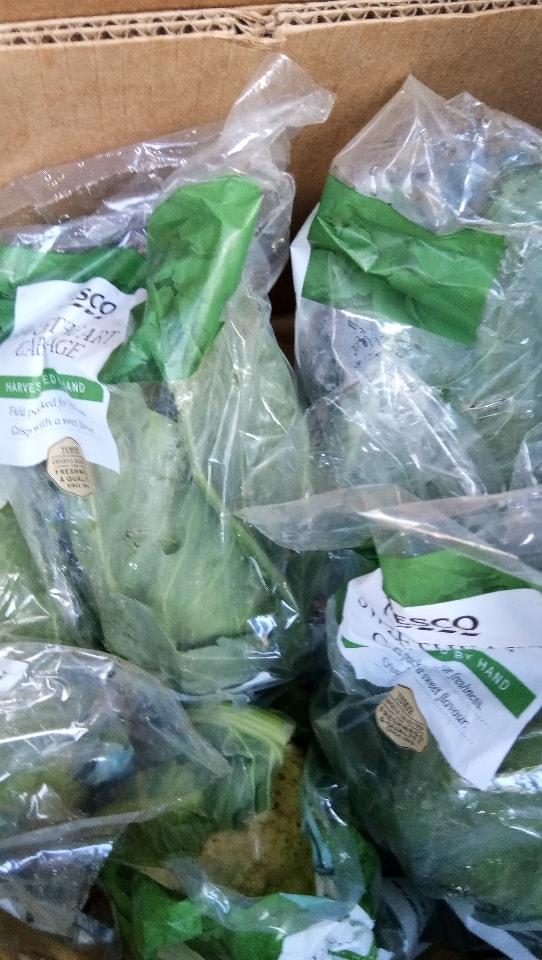 Tesco sweetheart cabbage