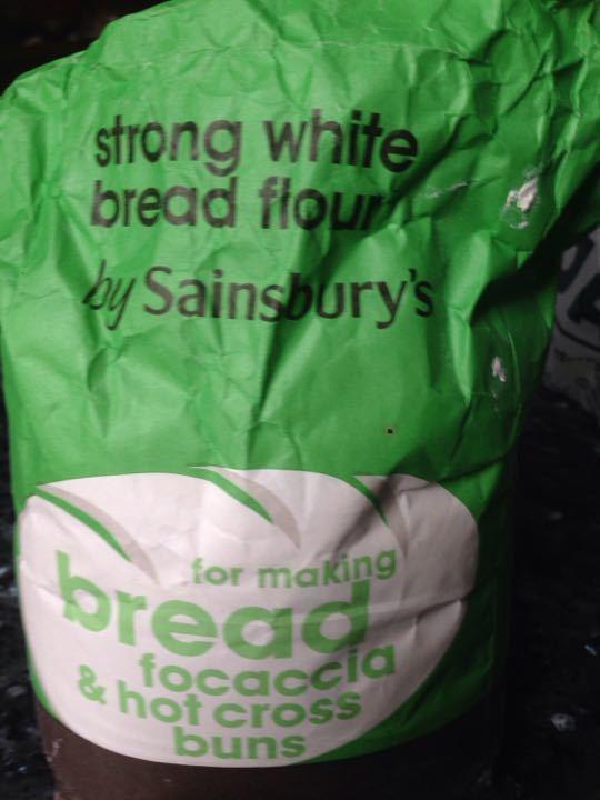 Strong white bread flour