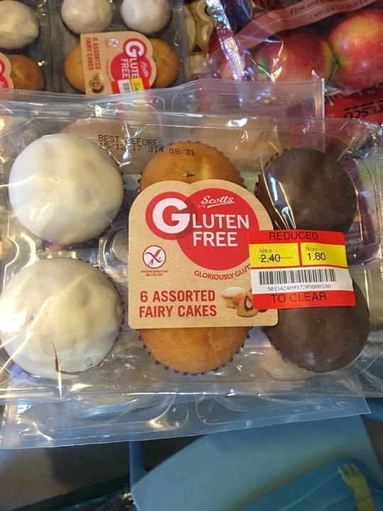 Gluten free 6 pack fairy cakes