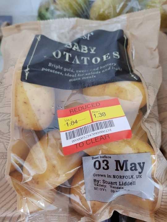 Baby potatoes
