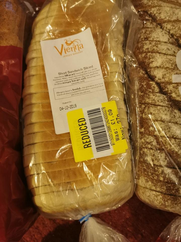 Vienna sliced