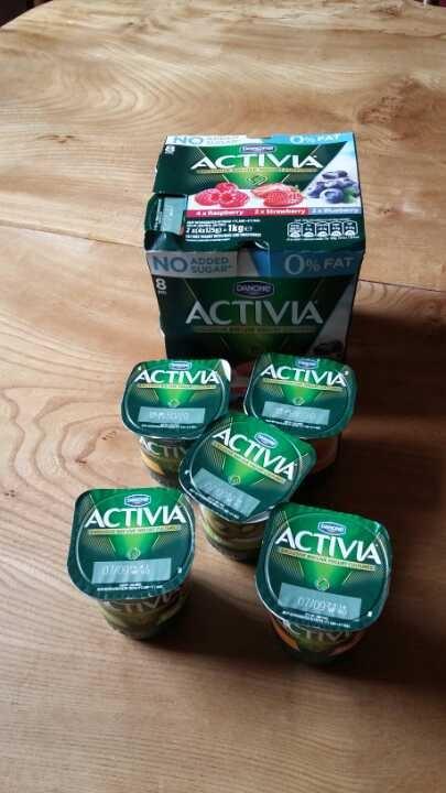 13 Activa yoghurts