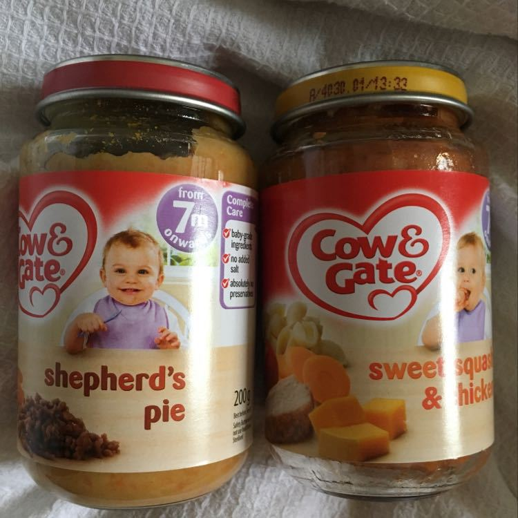 Baby food - cow and gate