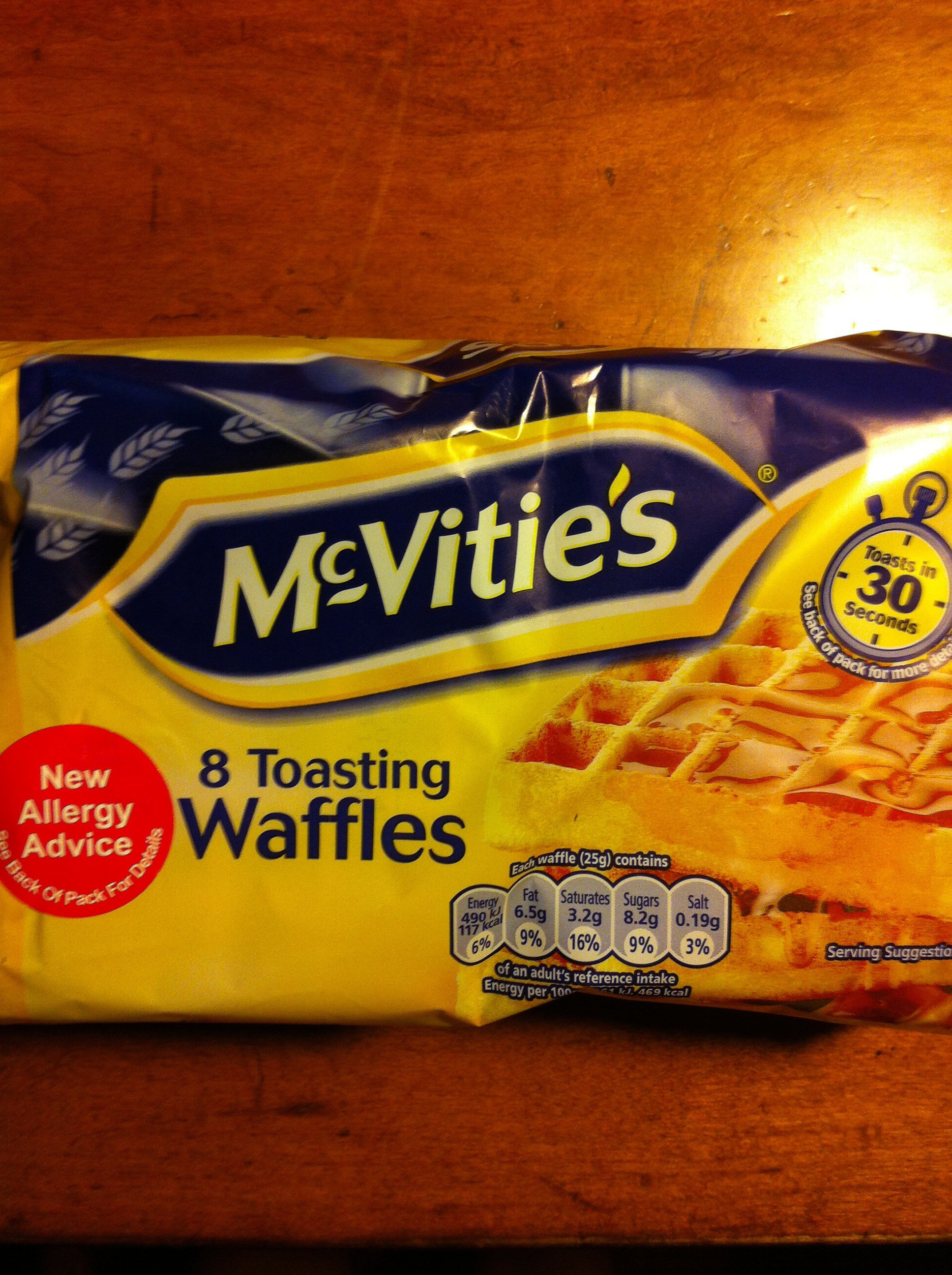 McVitie's Waffles