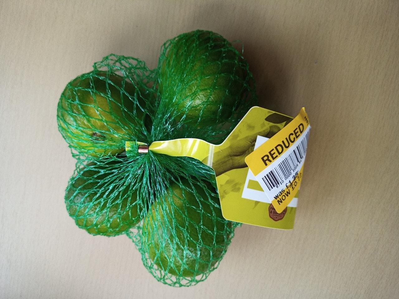 Bag of limes