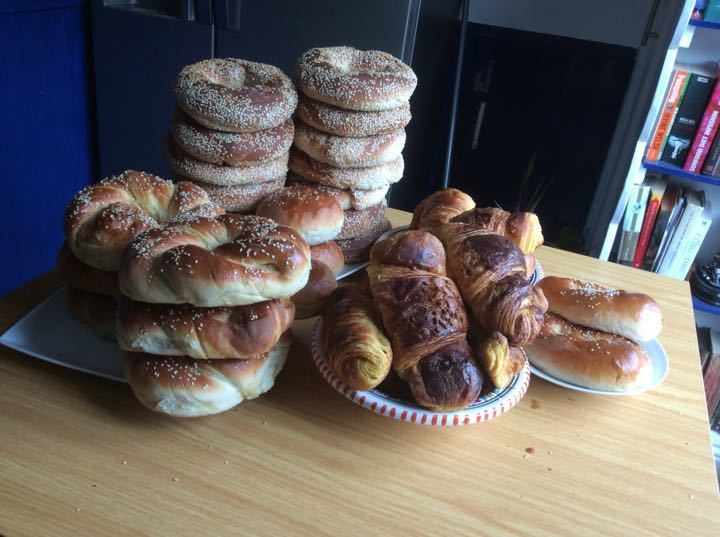Daily fresh left over bread (Yildiz bakery Archway)