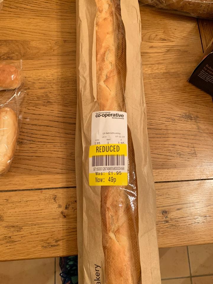 Parisien loaf