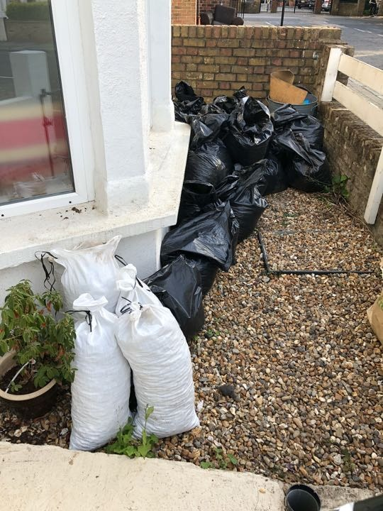 Gravel going spare - take as much as you want or it's going in a skip!