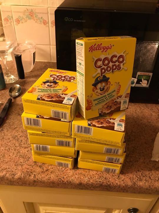 Coco Pops (mini boxes x10)