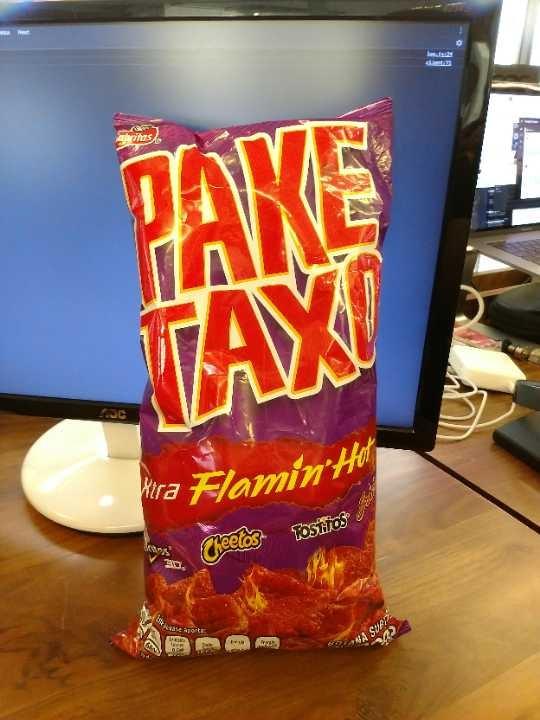 Pake Taxo Flaming Hot