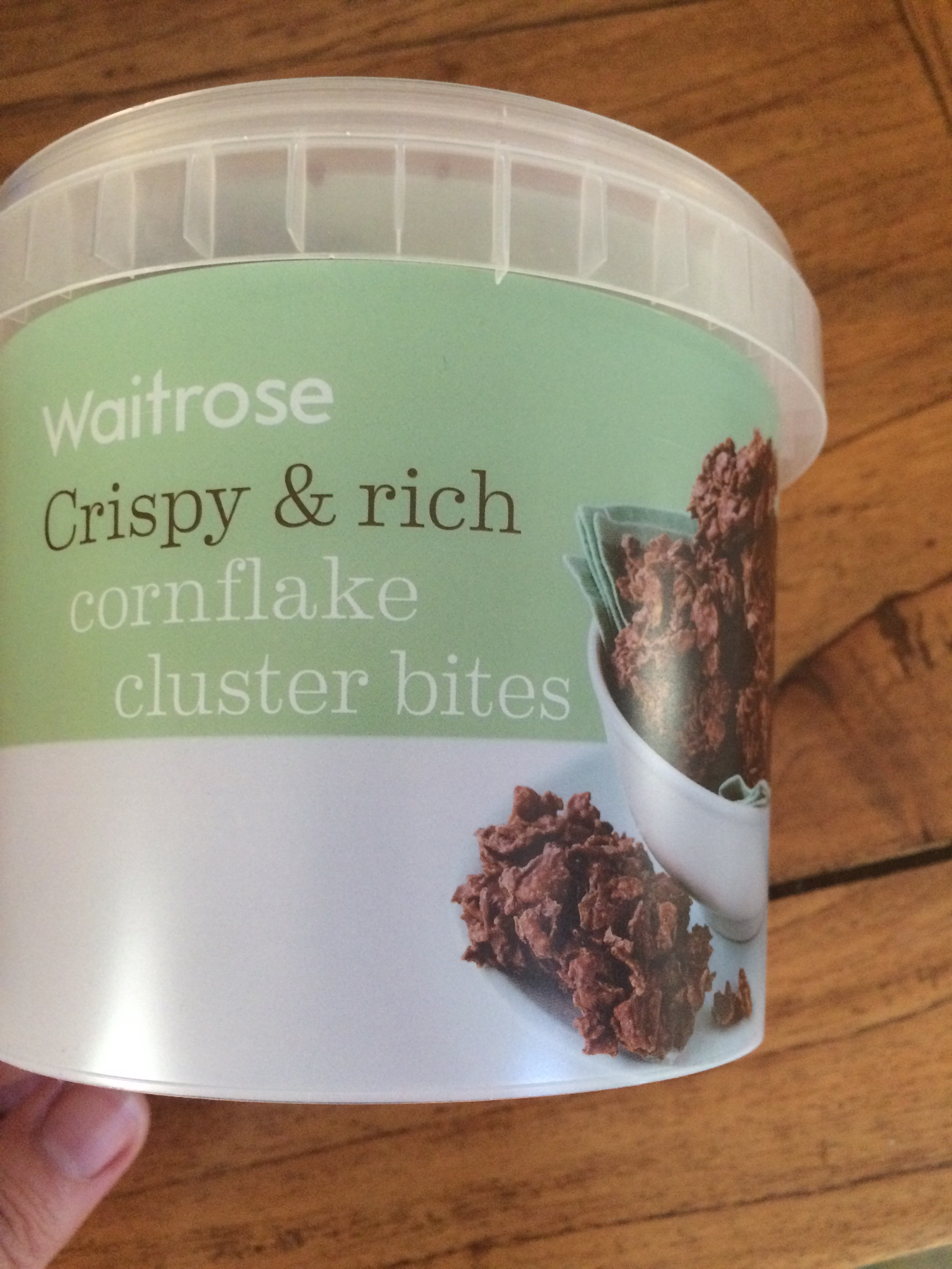 Chocolate Cornflake cluster bites