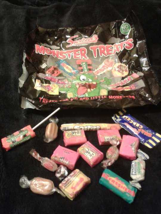 Leftover kid's sweets