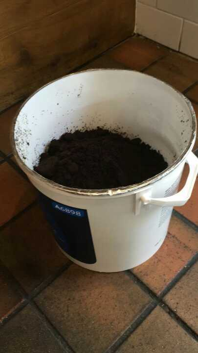 Coffee grounds for your garden from Loaf