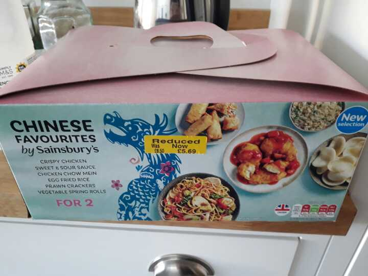 Chinese takeaway from Sainsbury's