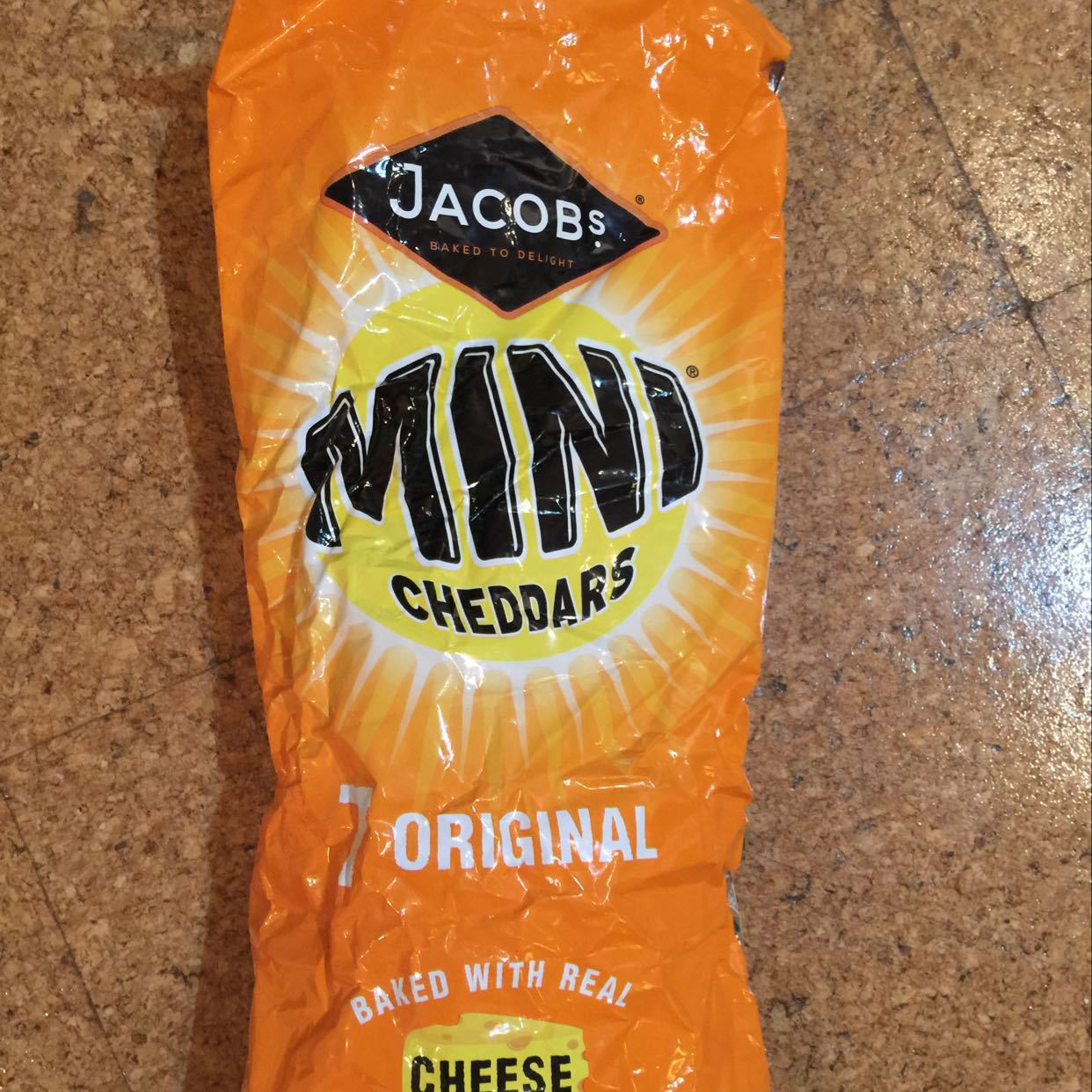 5 bags of mini cheddars